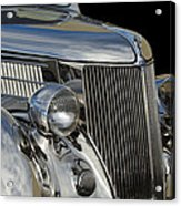 1936 Ford - Stainless Steel Body Acrylic Print by Jill Reger