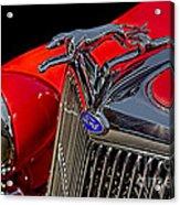 1936 Ford Model 48 Emblem Acrylic Print