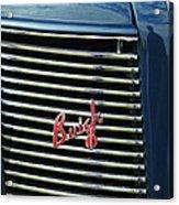 1937 Buick Grille Emblem Acrylic Print