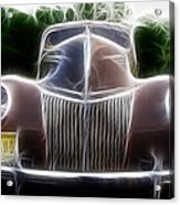 1939 Ford Deluxe Acrylic Print