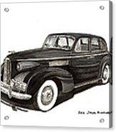 1939 Lasalle Sedan Classic Acrylic Print
