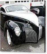 1939 Lincoln Zephyr  7680 Acrylic Print