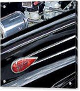 1939 Lincoln Zephyr Engine Acrylic Print