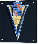 1940 Cadillac Emblem Acrylic Print
