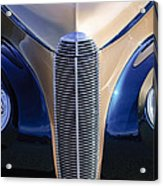 1940 Cadillac Lasalle Convertible Grille Acrylic Print