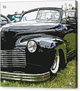 1940 Chevy Convertable Acrylic Print