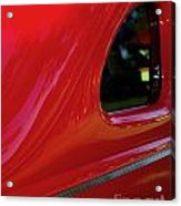 1940 Ford Coupe Side Window Acrylic Print