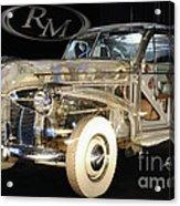 1940 Pontiac Transparent Acrylic Print