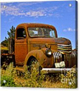 1940's Chevy Truck 2 Acrylic Print