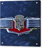 1941 Cadillac Emblem Acrylic Print