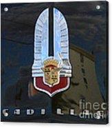 1941 Cadillac Hood Insignia Acrylic Print