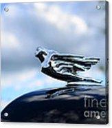 1941 Cadillac Hood Ornament - The Goddess Acrylic Print