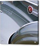 1941 Packard 1907 Custom Eight One-eighty Lebaron Sport Brougham Side Emblems Acrylic Print