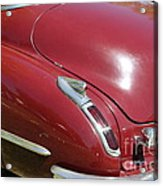 1947 Cadillac . 5d16185 Acrylic Print by Wingsdomain Art and Photography