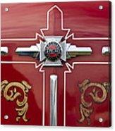 1948 American Lefrance Fire Truck Emblem Acrylic Print