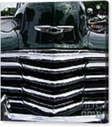 1948 Chevy Coupe Grille Acrylic Print