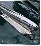 1948 Chevy Coupe Hood Ornament Acrylic Print
