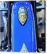 1948 Indian Chief Motorcycle Fender Acrylic Print