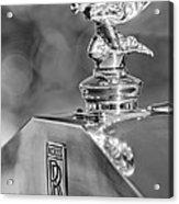 1948 Rolls-royce Hood Ornament 2 Acrylic Print