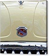 1949 Buick Super 8 Grill  Acrylic Print