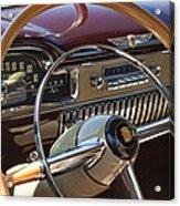 1949 Cadillac Sedanette Steering Wheel Acrylic Print