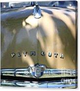1949 Plymouth Delux Sedan . 5d16206 Acrylic Print