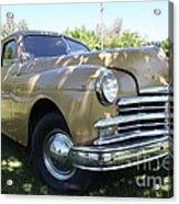 1949 Plymouth Delux Sedan . 5d16207 Acrylic Print
