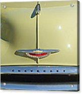 1950 Chevrolet Fleetline Grille 2 Acrylic Print