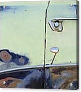 1950 Ford Crestliner Door Handle Acrylic Print