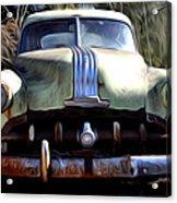 1950 Pontiac  Acrylic Print