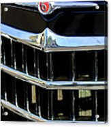 1950 Willys Jeepster Grille Emblem Acrylic Print