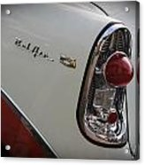 1950s Chevrolet Belair Chevy Antique Vintage Car 2 Acrylic Print