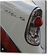 1950s Chevrolet Belair Chevy Antique Vintage Car Acrylic Print
