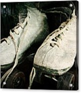 1950's Roller Skates Acrylic Print by Michelle Calkins