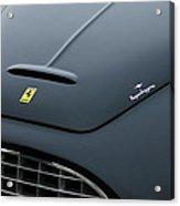 1951 Ferrari 212 Export Touring Berlinetta Hood Emblems Acrylic Print