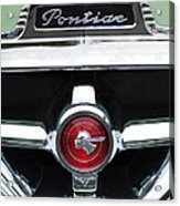 1951 Pontiac Streamliner Grille Emblem Acrylic Print