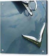 1952 Chrysler Saratoga Coupe Hood Ornament Acrylic Print