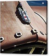 1952 Dodge Hood Emblem Acrylic Print