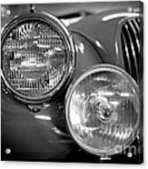 1952 Jaguar Headlights Acrylic Print