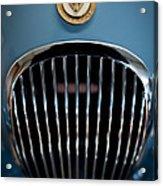 1952 Jaguar Hood Ornament And Grille Acrylic Print