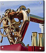 1952 L Model Mack Pumper Fire Truck Acrylic Print