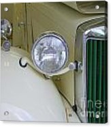 1952 Mg Roadster Headlamp Acrylic Print