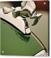 1952 Sterling Gladwin Maverick Sportster Hood Ornament Acrylic Print