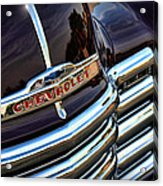 1953 Chevy Pickup Grille Acrylic Print