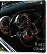 1953 Mercury Monterey Dash Acrylic Print