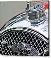 1953 Morgan Plus 4 Le Mans Tt Special Hood Ornament        Acrylic Print