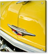 1954 Chevrolet Hood Ornament 4 Acrylic Print