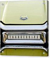 1954 Ford Thunderbird Taillight Emblem Acrylic Print