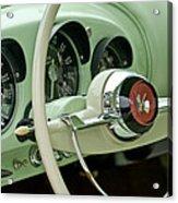 1954 Kaiser Darrin Steering Wheel Acrylic Print