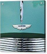 1955 Aston Martin Grille Emblem Acrylic Print